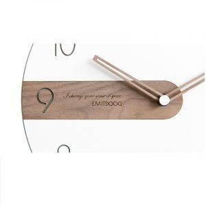 Đồng hồ treo tường hiện đại EMITDOOG2