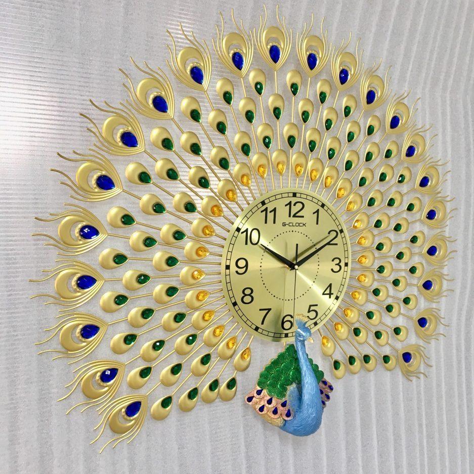 Đồng hồ treo tường khổng tước