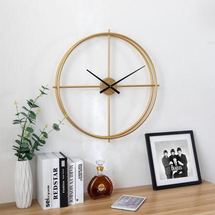 Đồng hồ treo tường đẹp trang trí phòng khách, văn phòng