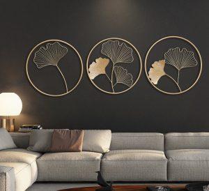 Decor trang trí tường phòng khách