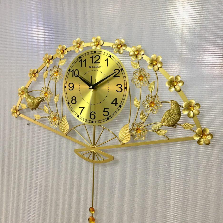 đồng hồ treo tường hiện đại trang trí nghệ thuật