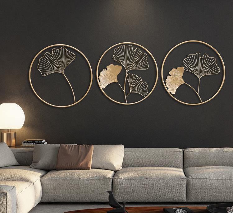phù điêu trang trí tường phòng khách