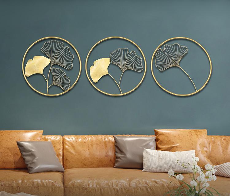 tranh sắt trang trí tường phòng khách