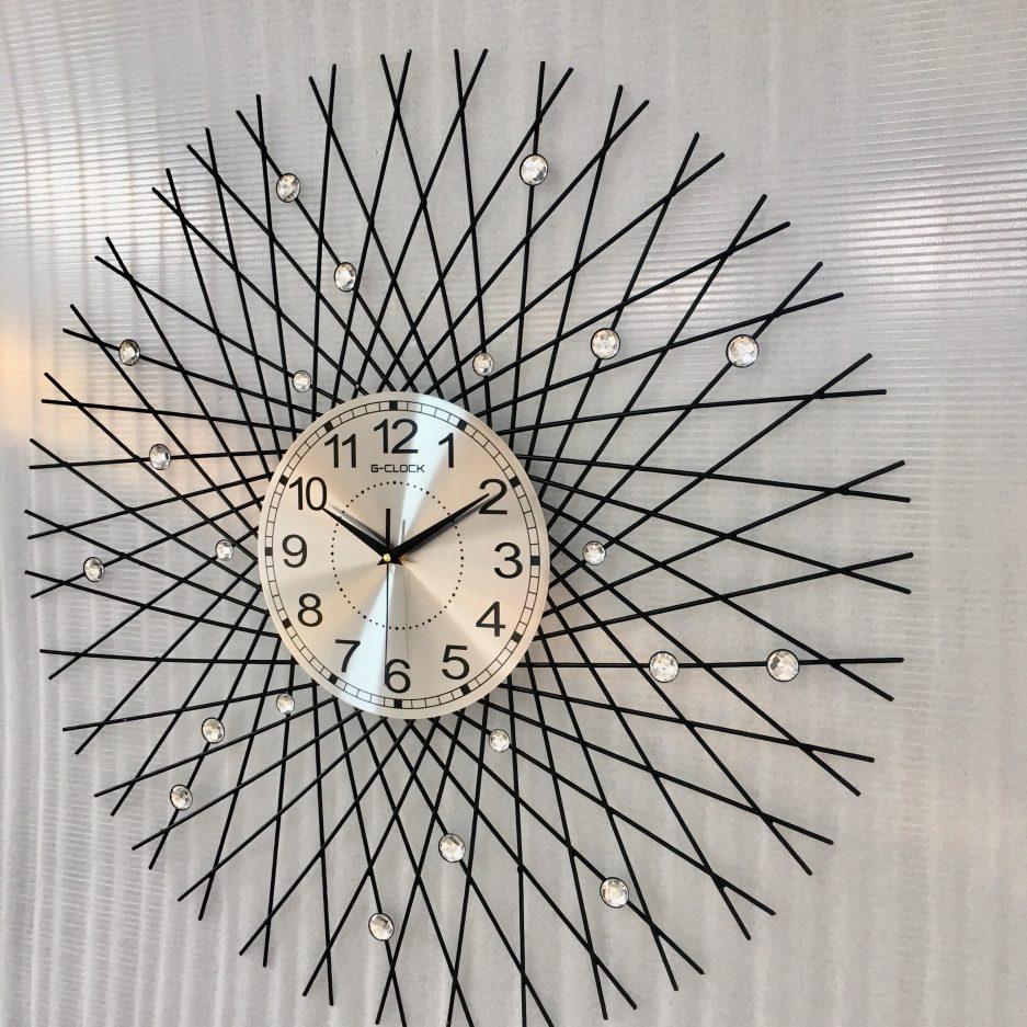 đồng hồ treo tường hiện đại decor hà nội